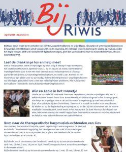 Belangrijkste nieuws Bij Riwis VVT nieuwsbrief voortaan in bewonersblad Iselbode