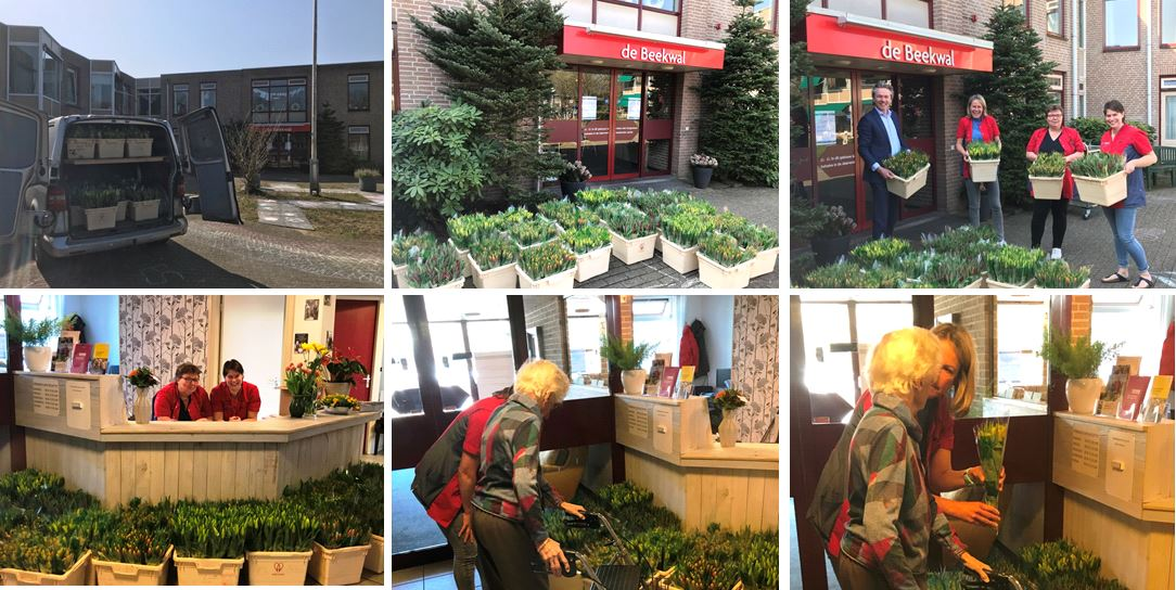 Riwis Zorg en Welzijn brengt lente bij bewoners 8