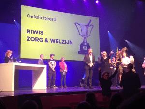 Riwis Zorg & Welzijn wint Apeldoorn Business Award!